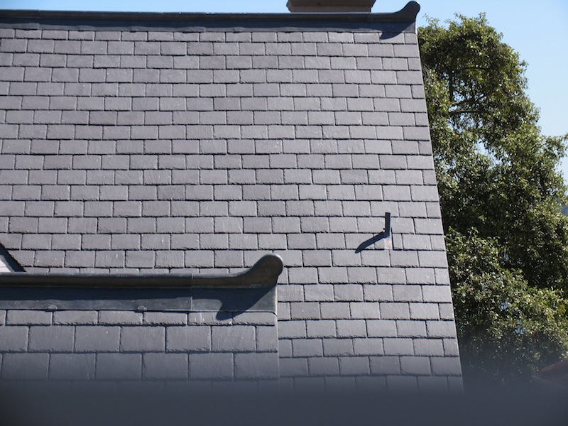 Slate roofing Sydney-Welsh Penrhyn roof slate, Traditional Lead ridge & Finials