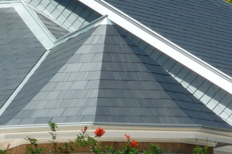 Slate roofing Sydney-mitred hip