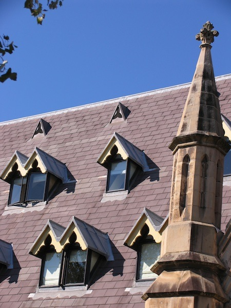 Slate roofing Sydney-Slate roofing with Traditional Leadwork on Dormers