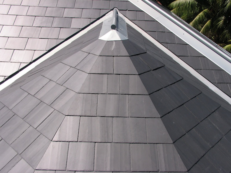 Slate roofing Sydney-Glendyne slate,Zinc cappings and valleys,Zinc roofing