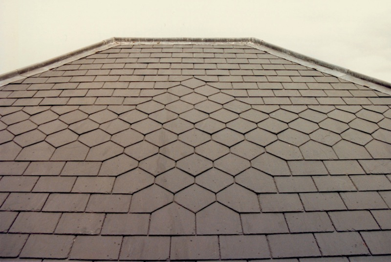 Slate roofing Sydney-Diamond & Band Pattern