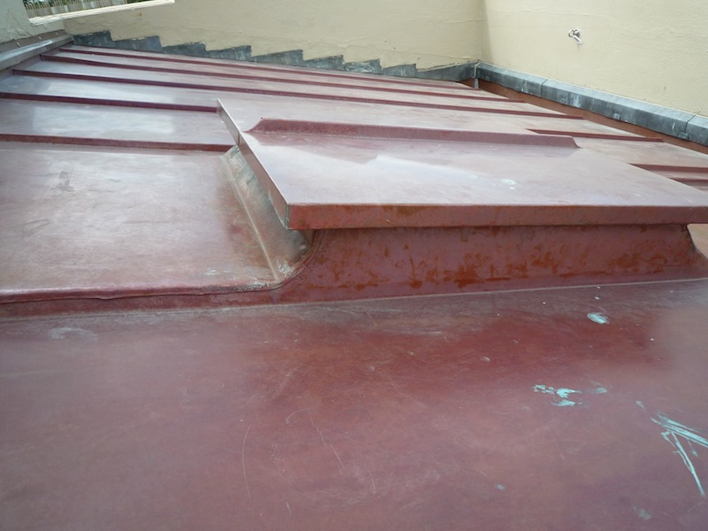 Copper roofing Sydney-Traditional welted joints