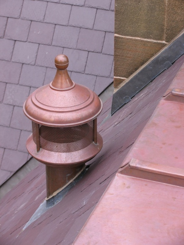 Copper roofing & Vent Sydney