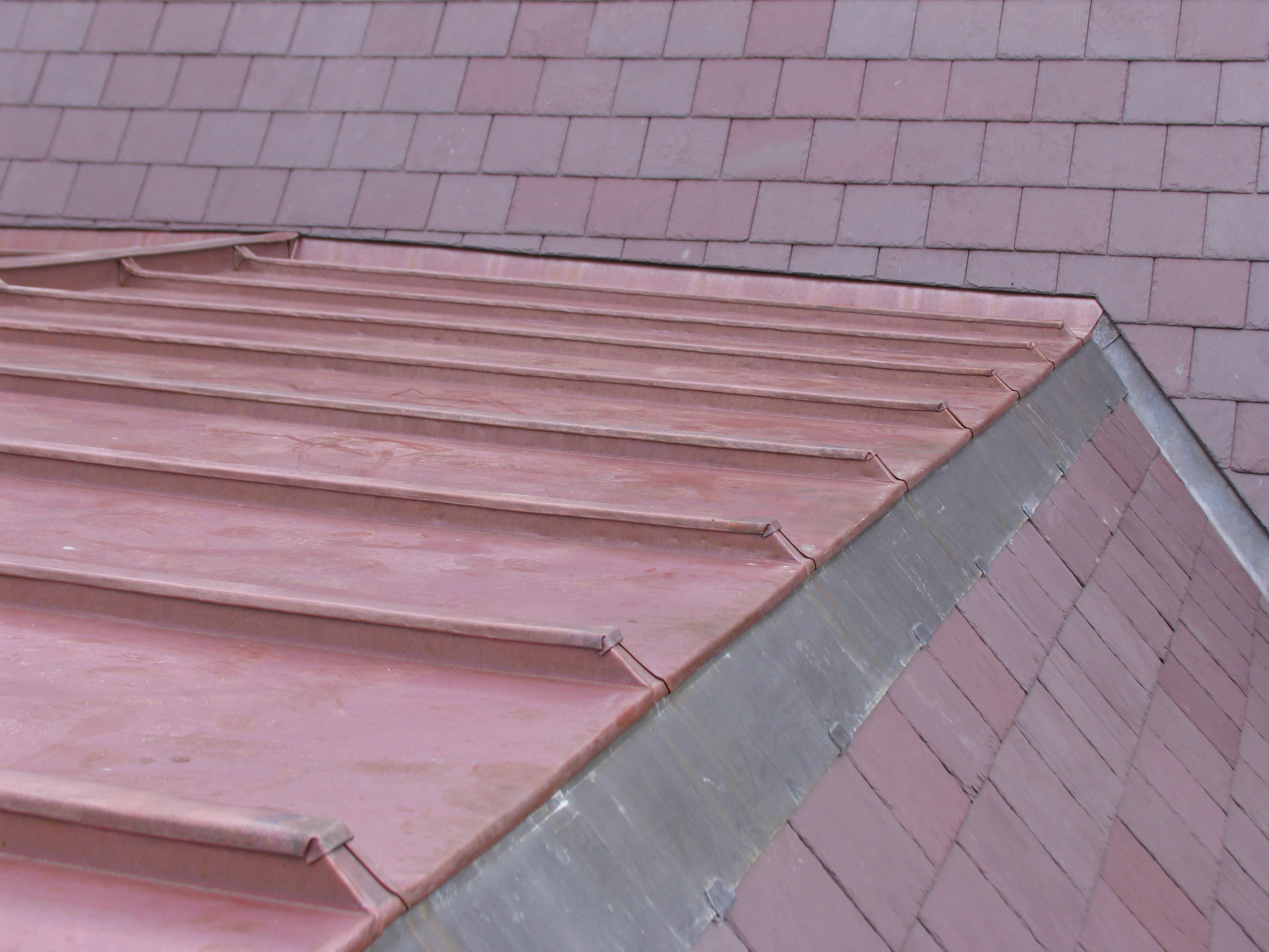 Copper roofing Sydney-Traditional Batten roll