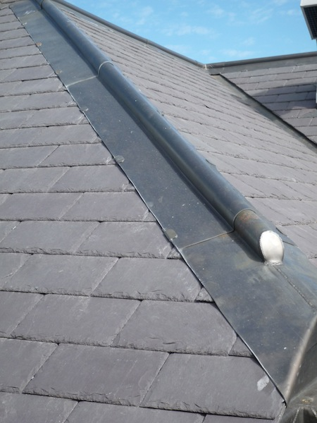 Traditional Leadwork Sydney-Lead roll capping