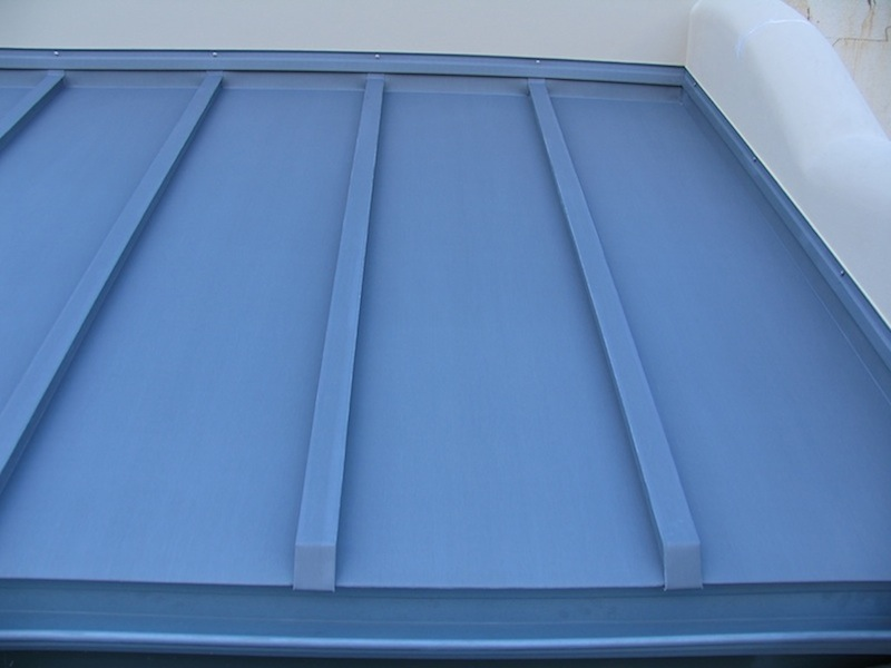 Zinc roofing Sydney-Traditional Batten roll
