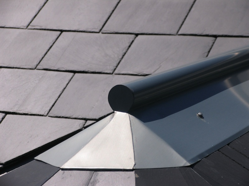 Zinc roofing Sydney-Zinc roll top capping