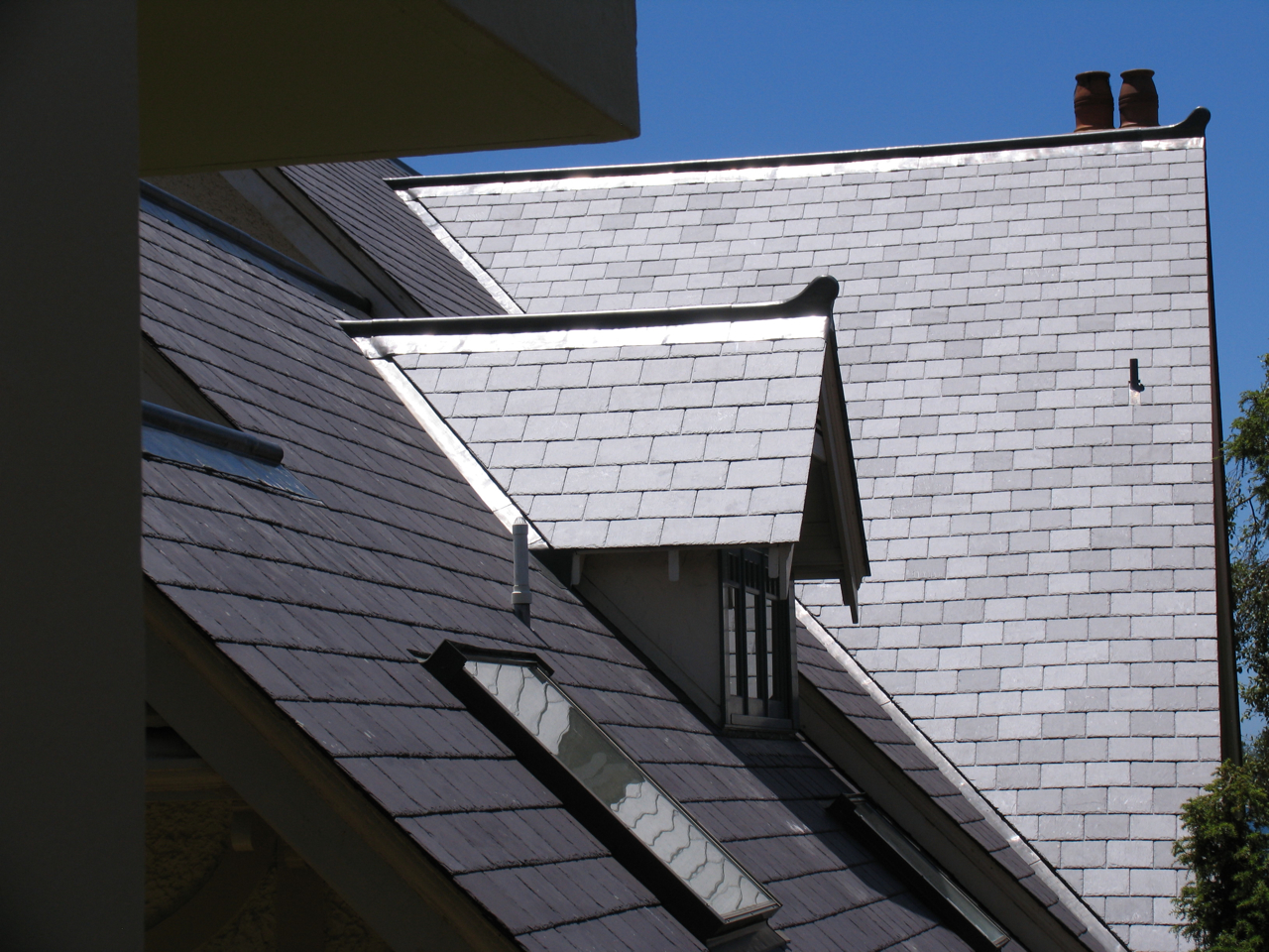 heritage slate roofing Sydney, traditional leadwork.