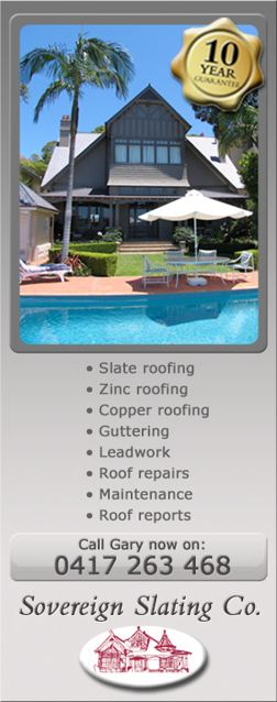 Zinc Roofing & Copper Roofing