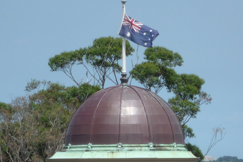 Copper roofing Sydney-Copper Dome,Taronga Park Zoo.