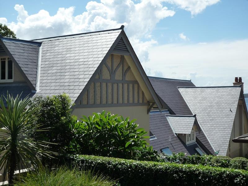 Slate roofing Sydney-Welsh Penrhyn slate, Traditional leadwork