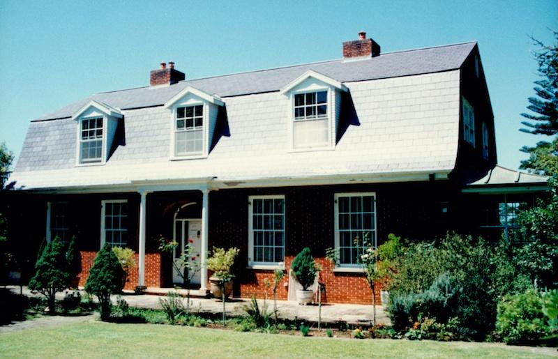 Slate roofing Sydney-Welsh Penrhyn slate roof & Mansard