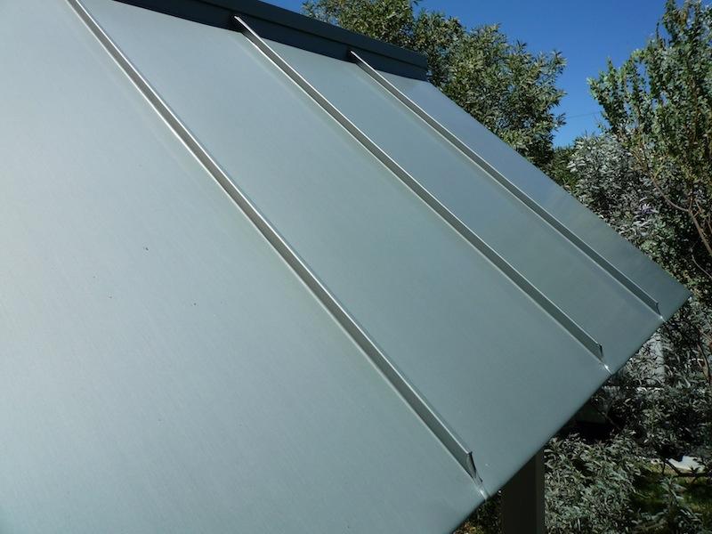 Zinc roofing Sydney-Lytch gate