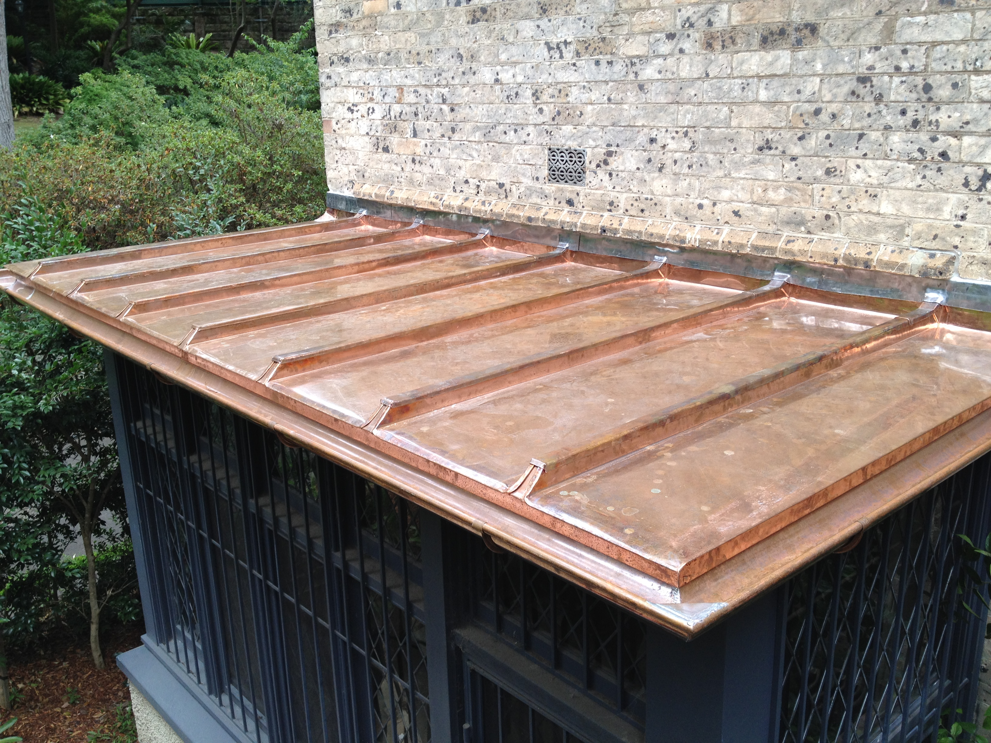 Traditional Copper roofing